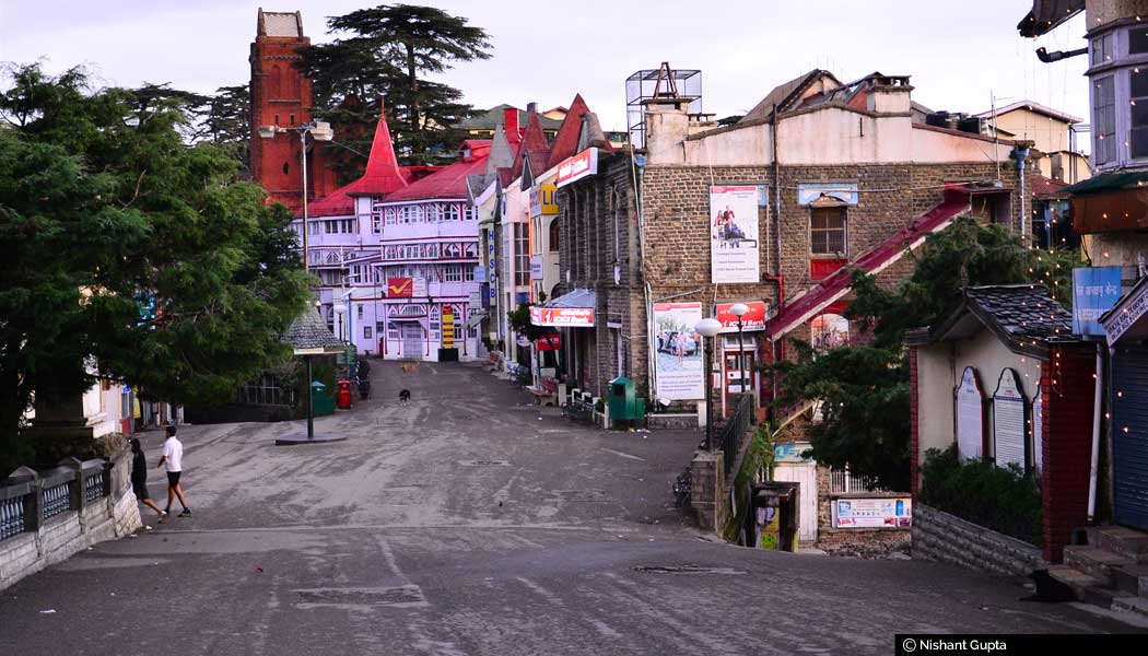 Post-office-and-Bank-buildings,-Mall-Road,-Shimla-The-place-looks-almost-unrecognisable