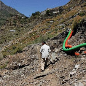 Hydropower landslide 2012