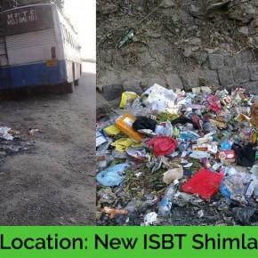 new-isbt-open-garbage-mc-shimla