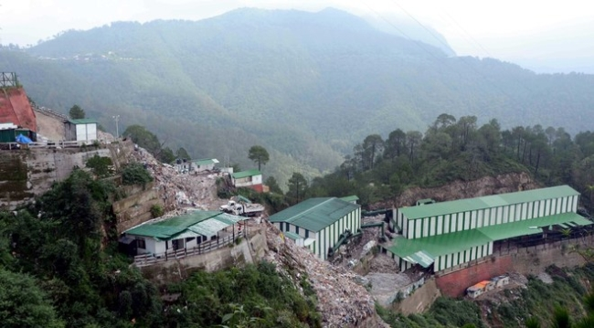 shimla waste treatment plant