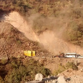 chandigarh-shimla national highway block