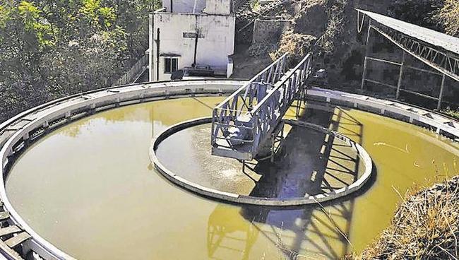 malayana sewage treatment plant