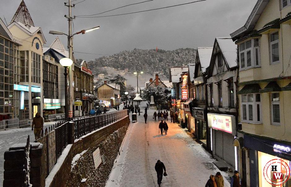 Local Shimla Market Sales Down