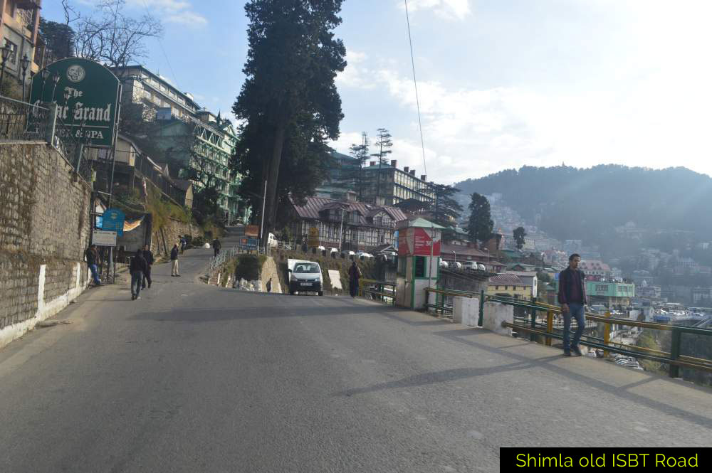 Shimla-old-ISBT-Road