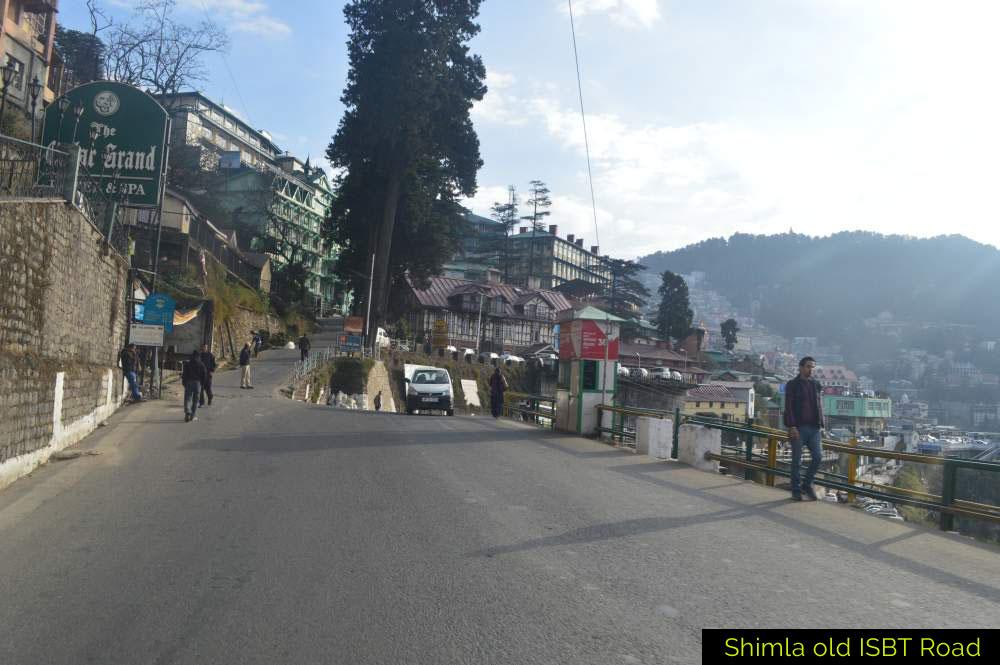 Shimla-old-ISBT-Road
