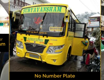 Drunk driver & conductor of numberless private bus harasses elderly woman