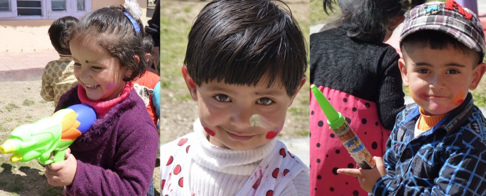 awesome kids holi pictures