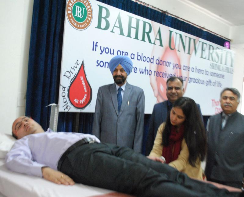 Bhara University Blood Donation Camp