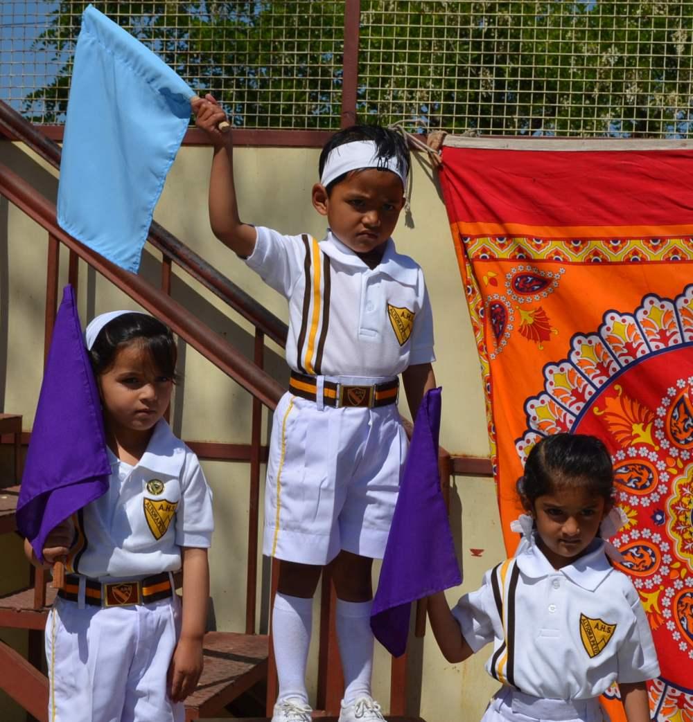 flag race