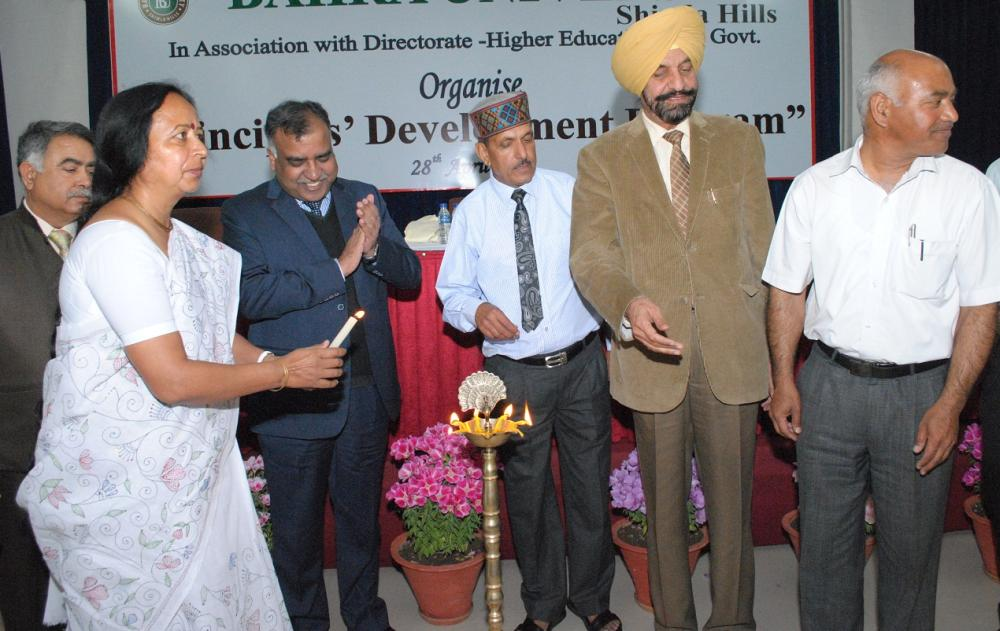 Principal Development Programme Bahra university