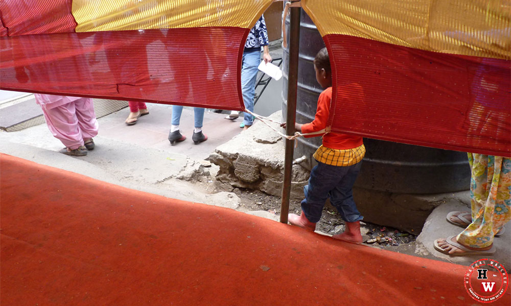 pedestrian path-Shimla