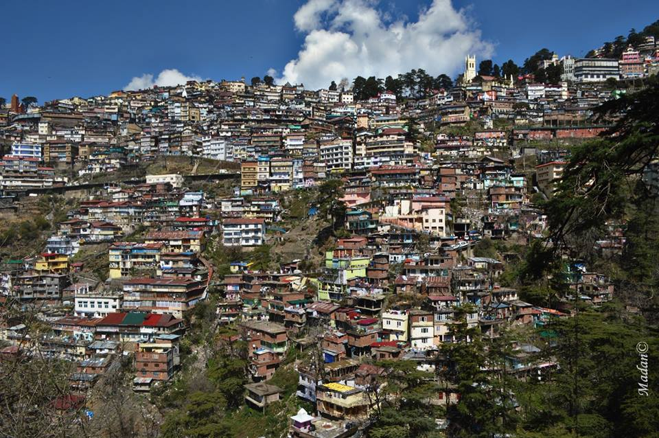 Urbanization of shimla