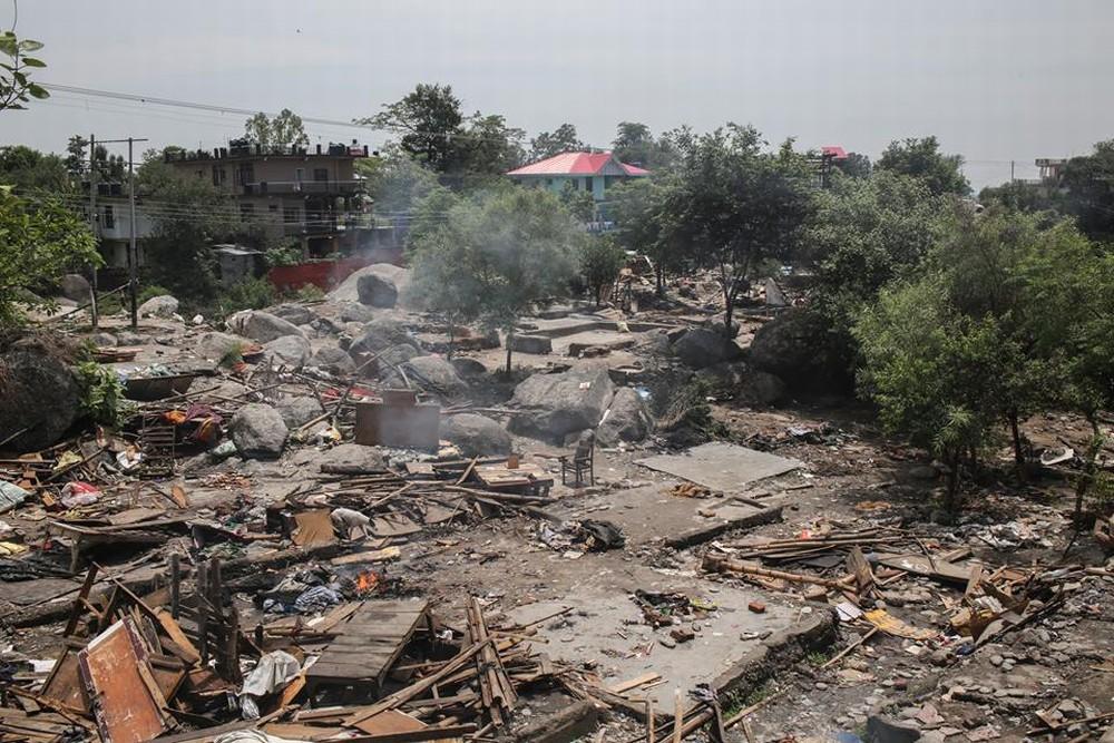 Dharamsala slum demolition 6