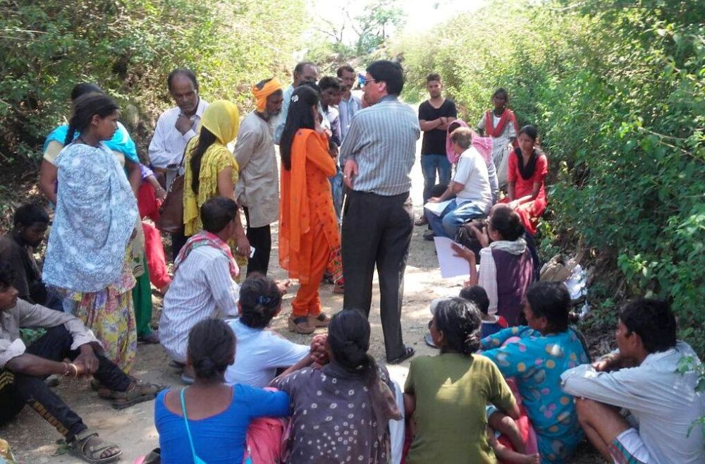 Dharamshala Slum dwellers
