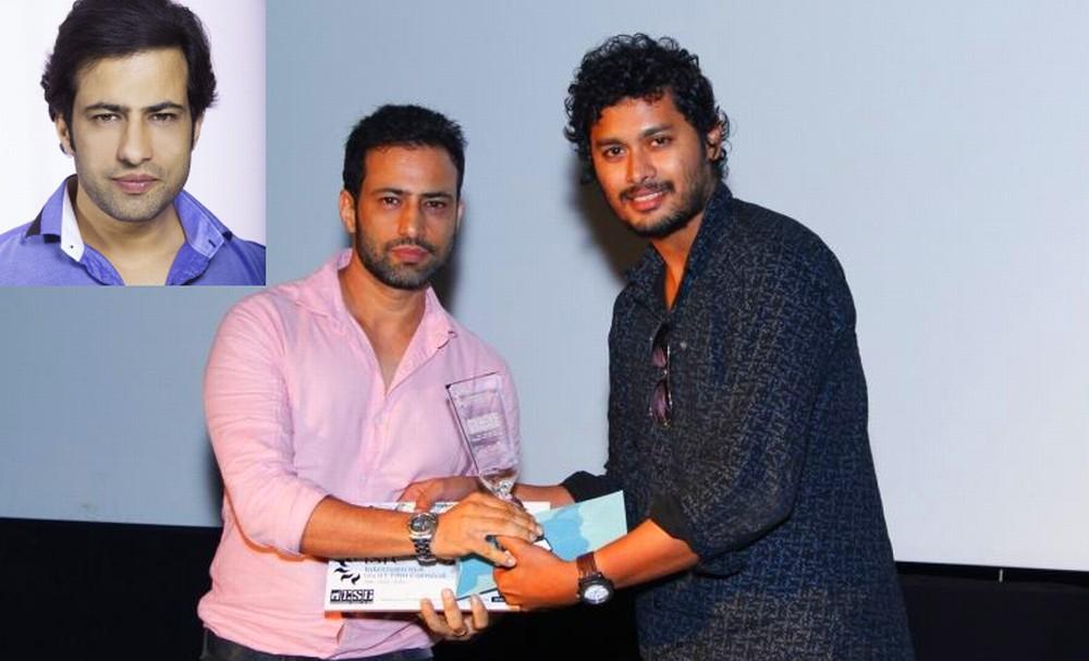 Girish Harnot wins Award in Goa Festival