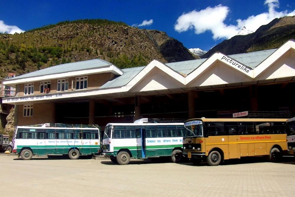 Manali-Keylong bus services