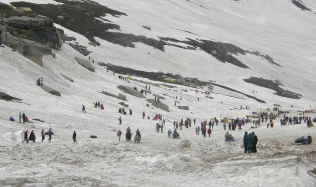 Rohtang-Pass glacier melting faster