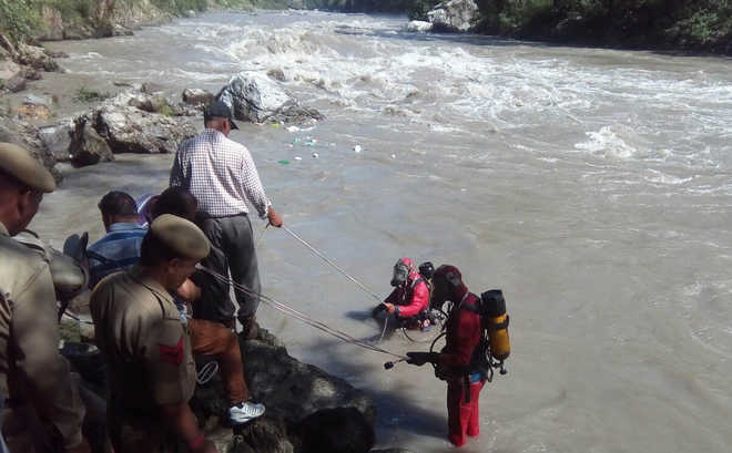 Beas River Car Accident