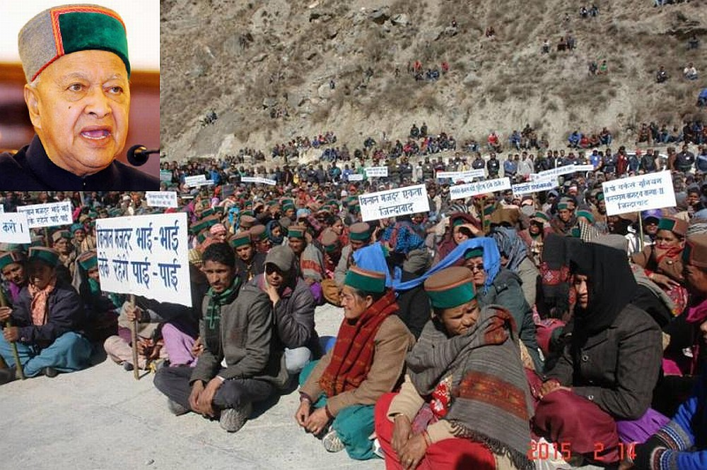 Letter to Virbhadra Singh on Karcham-Wangtoo-protest