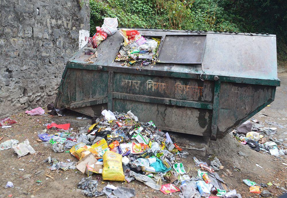 shimla mc garbage treatment plant
