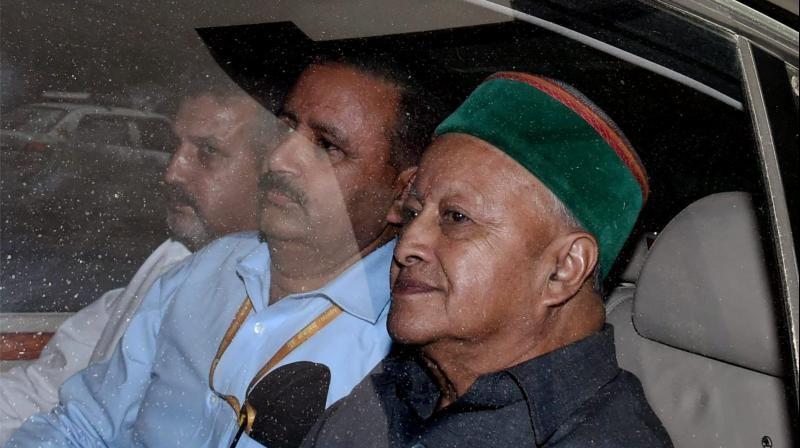 Virbhadra ED Arrest
