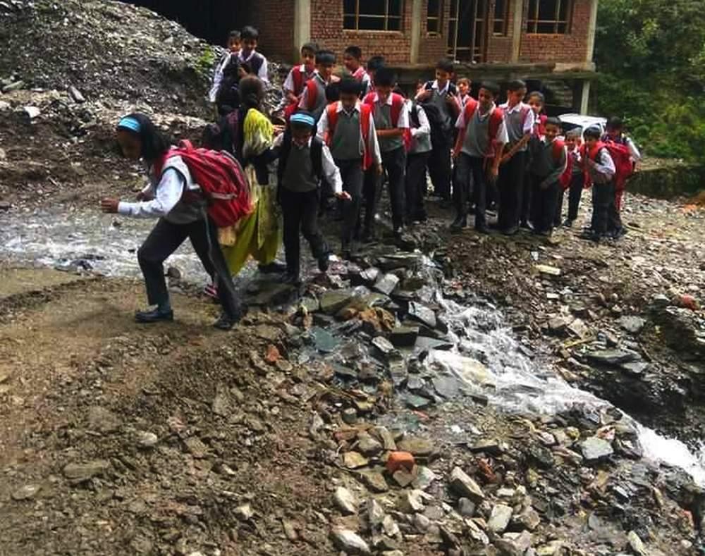 Monsoon Damagae Shimla