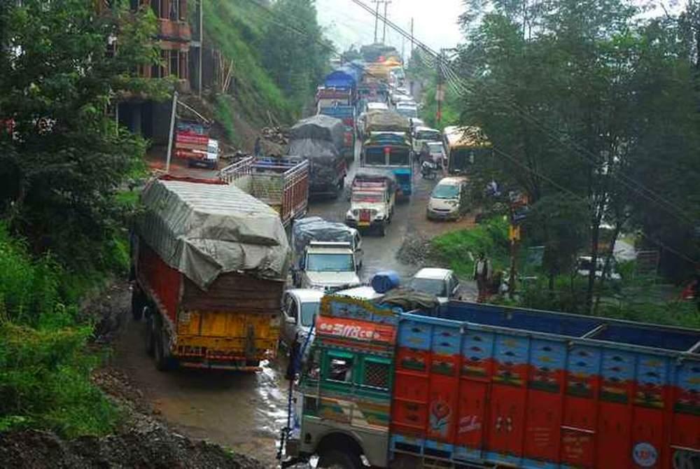 Shimla Trafic Jam