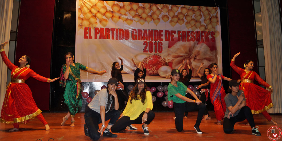 ST Bedes College Freshers Cultural Program