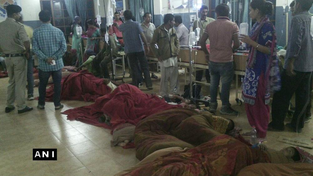 123 students taken ill in Shillai