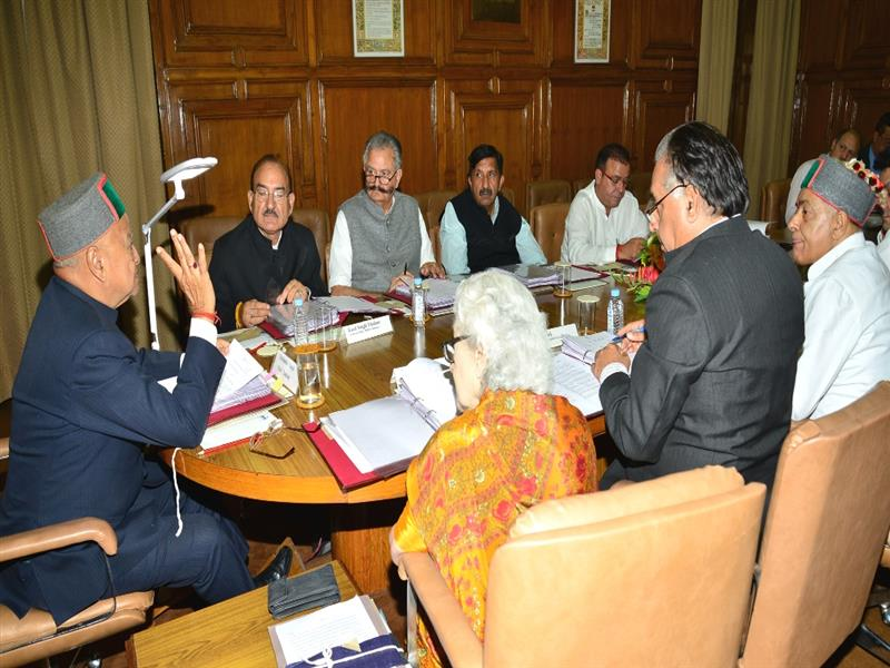 HP Govt. Cabinet Meeting