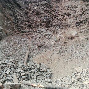 illegal mining in shimla-barmu-village
