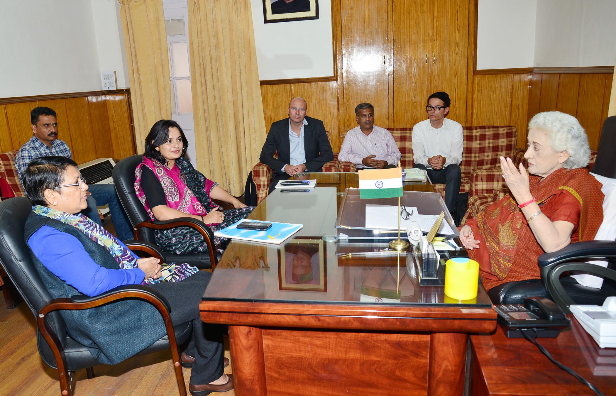 WOrld Bank Team Shimla Visit