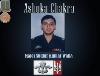 One Army, Numerous Sagas – Major Sudhir Kumar Walia