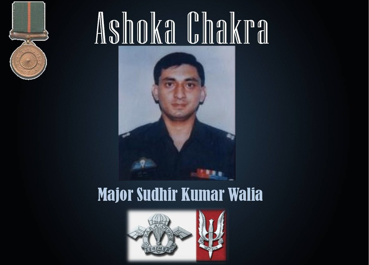 Major Sudhir Walia Palampur