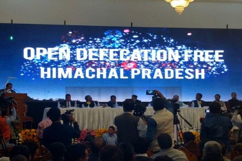 Open Defecation Free Himachal Pradesh