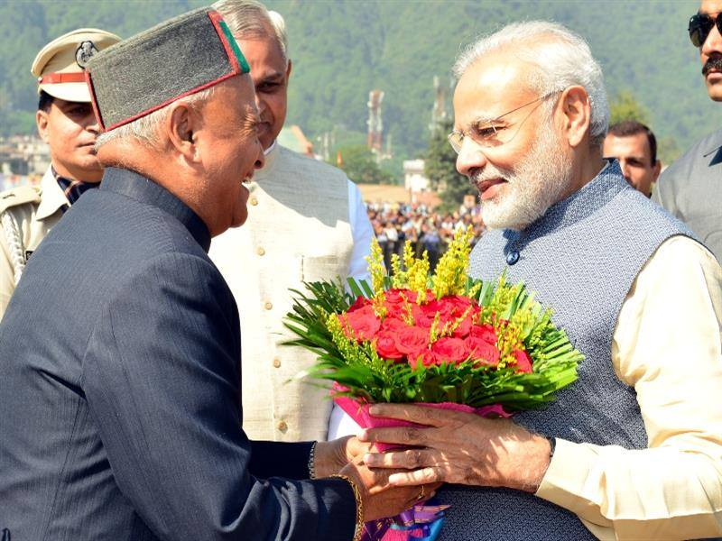 PM Modi in HImachal Pradesh