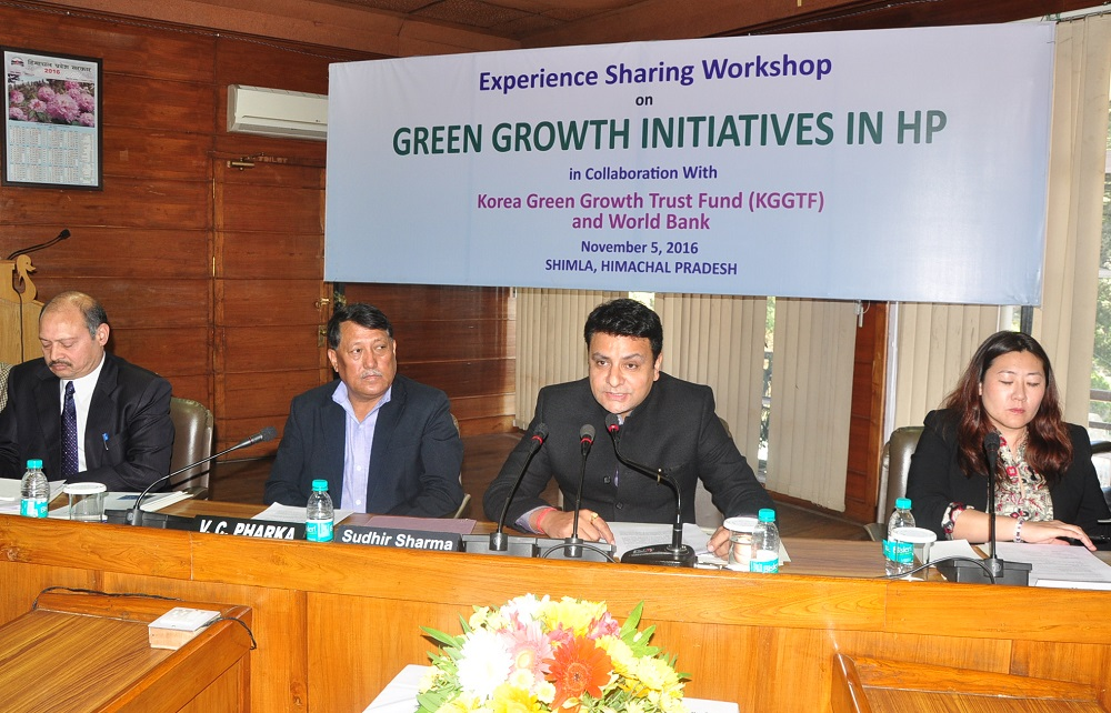 Green Growth in Himachal and Korean Expertise