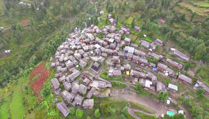dodra-village-drone-image