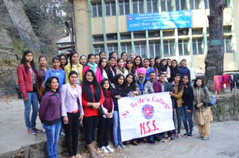 nss-volunteers-st-bedes-shimla