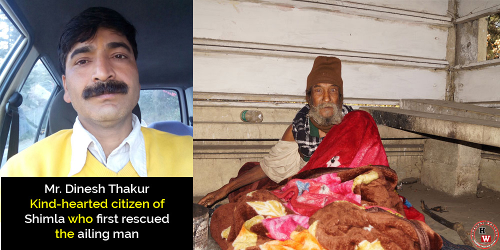 mr-dinesh-thakur-kind-hearted-citizen-of-shimla-who-first-rescued-the-ailing-man