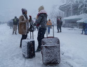 In Pictures: Shimla receives overdose of snowfall in 2017