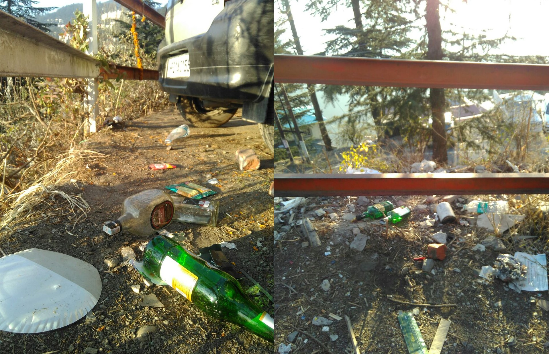 Shimla city garbage management