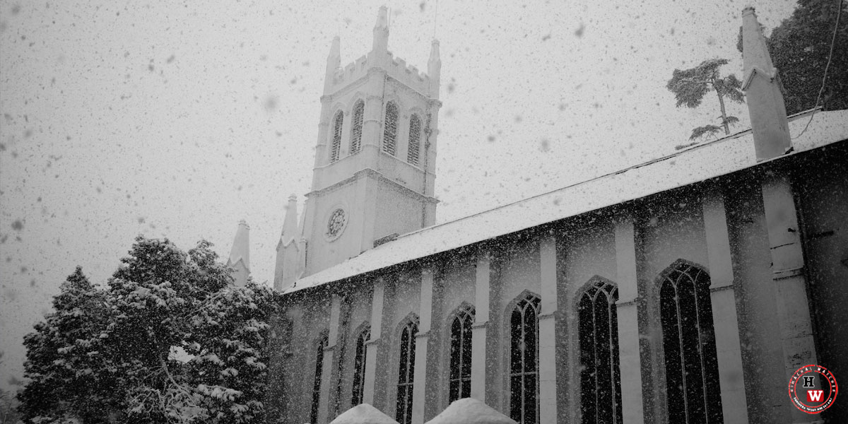 Monochrome-Christ-Church-Shimla