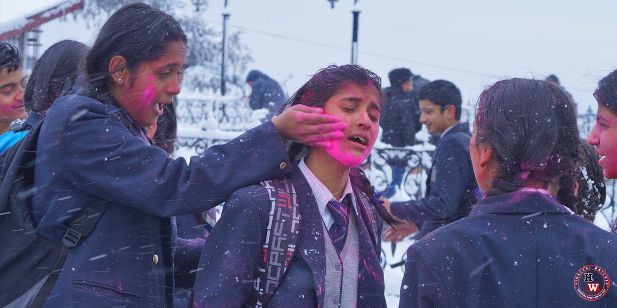 Shimla-Snowfall-and-Holi-Celebration