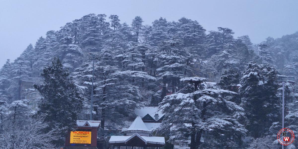 Shimla-Snowfall-View