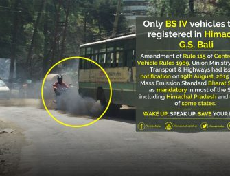 Bharat Stage-IV in Himachal: Only BS-IV vehicles to be registered from April 1