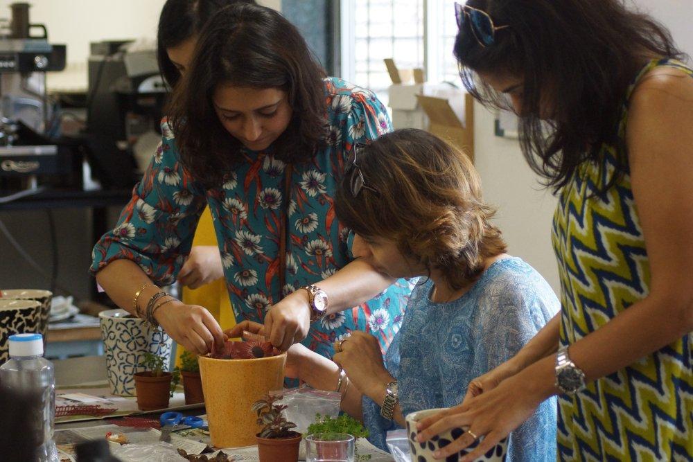 Miniature Gardening Workshop Shimla 4