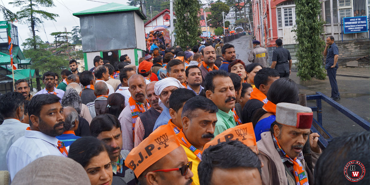 Shimla-BJP-Party-Workers