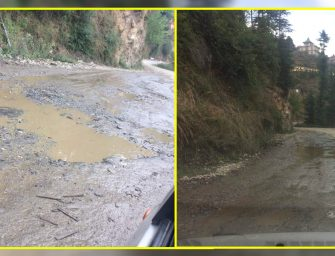 Shimla's Mehali-Shoghi bypass road in tatters, driving becomes a risky business