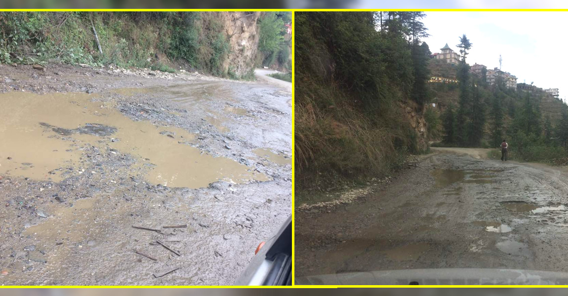 APGOYAL-university-shoghi-bye-pass-road-in-a-pathetic-condition-feature